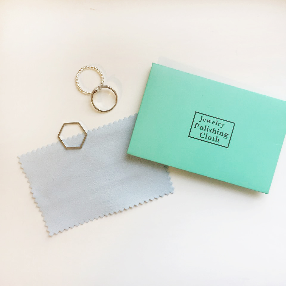 Jewelry polishing cloth / 은세척원단 / 은광택천 (made in England)